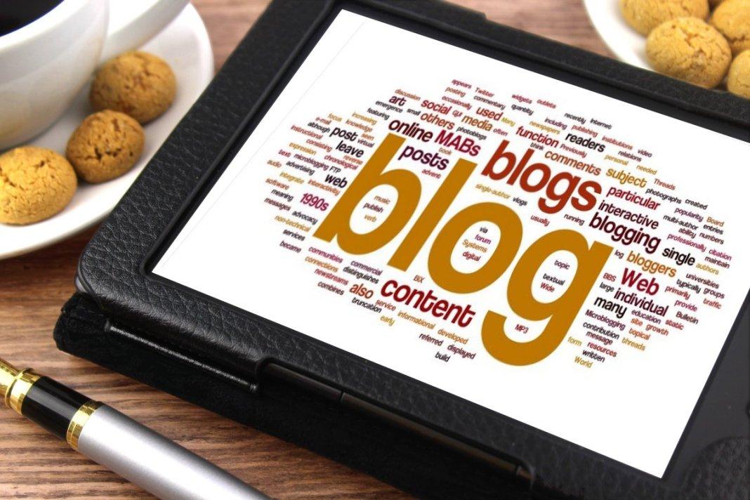 blog account create