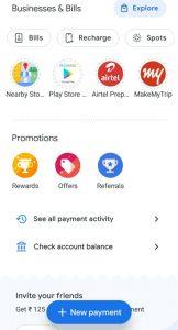 Google pey money transfer