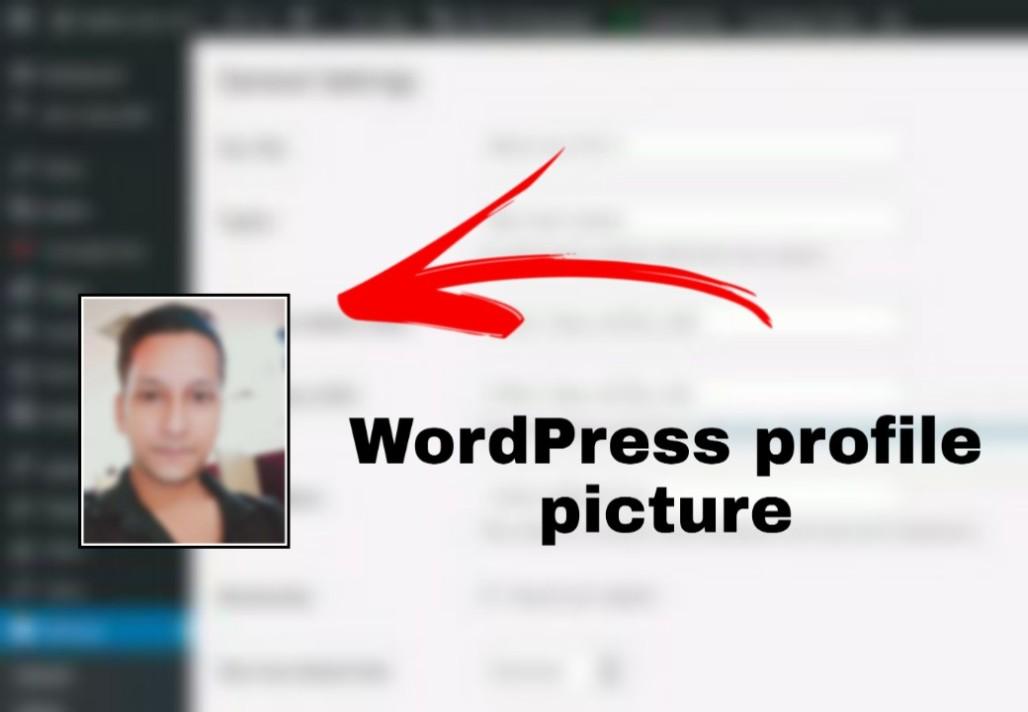 WordPress profile picture