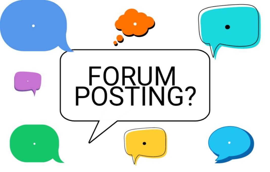 forum-posting-kya-hai