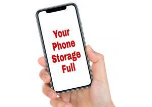 storage full