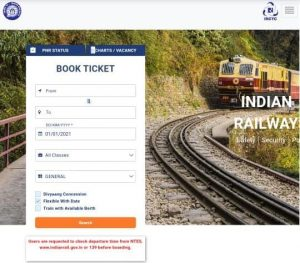 IRCTC ticket booking