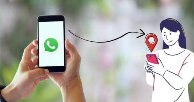 how to send whatsapp location