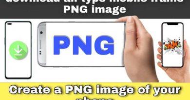 mobile frame png